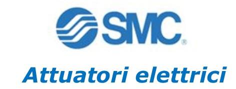Attuatori elettrici SMC